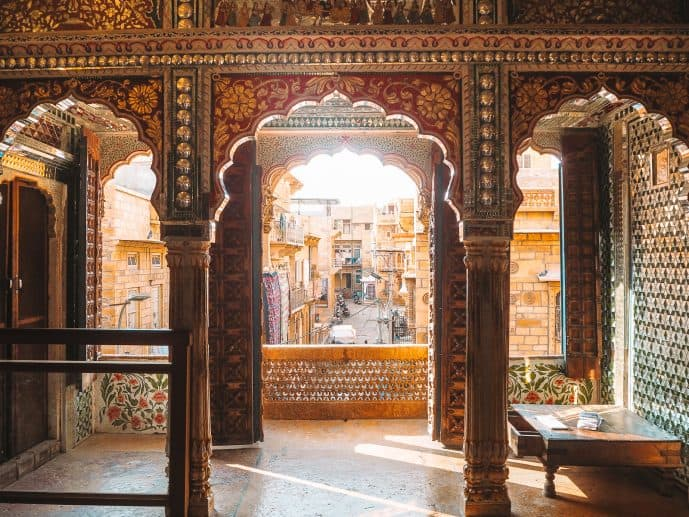 Kothari's Patwa Haveli Museum Jaisalmer