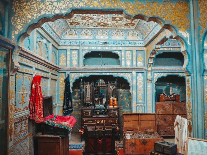 Kathori's Patwa Haveli museum Jaisalmer