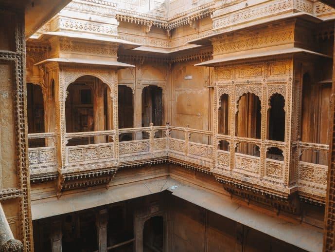 Inside Kothari's Patwa Haveli Museum