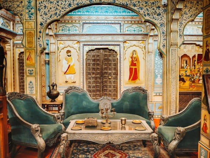 Inside Patwon Ki Haveli Jaisalmer