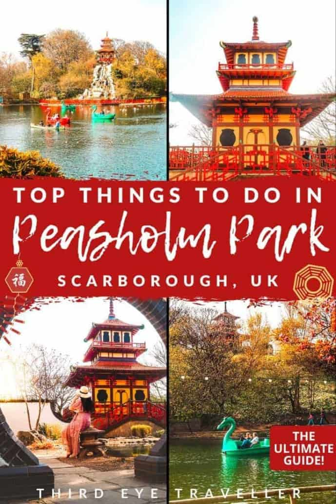 Things to do in Peasholm Park Scarborough