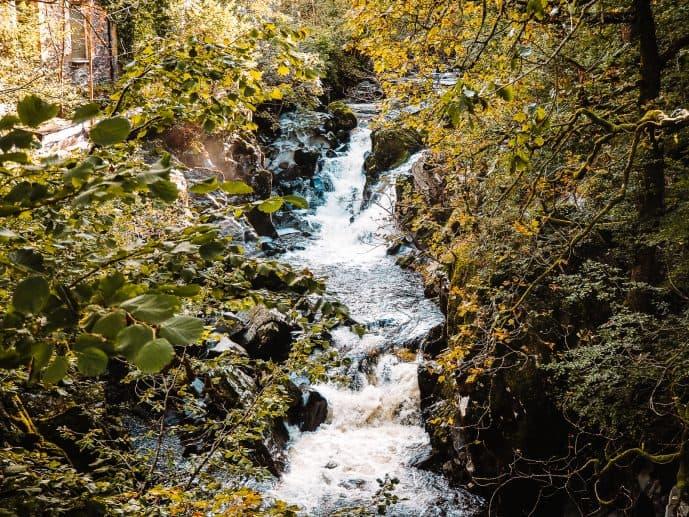 Pandy Falls Wales