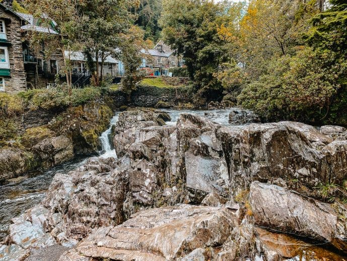 Pont-y-Pair Bridge Betws-y-Coed Wales