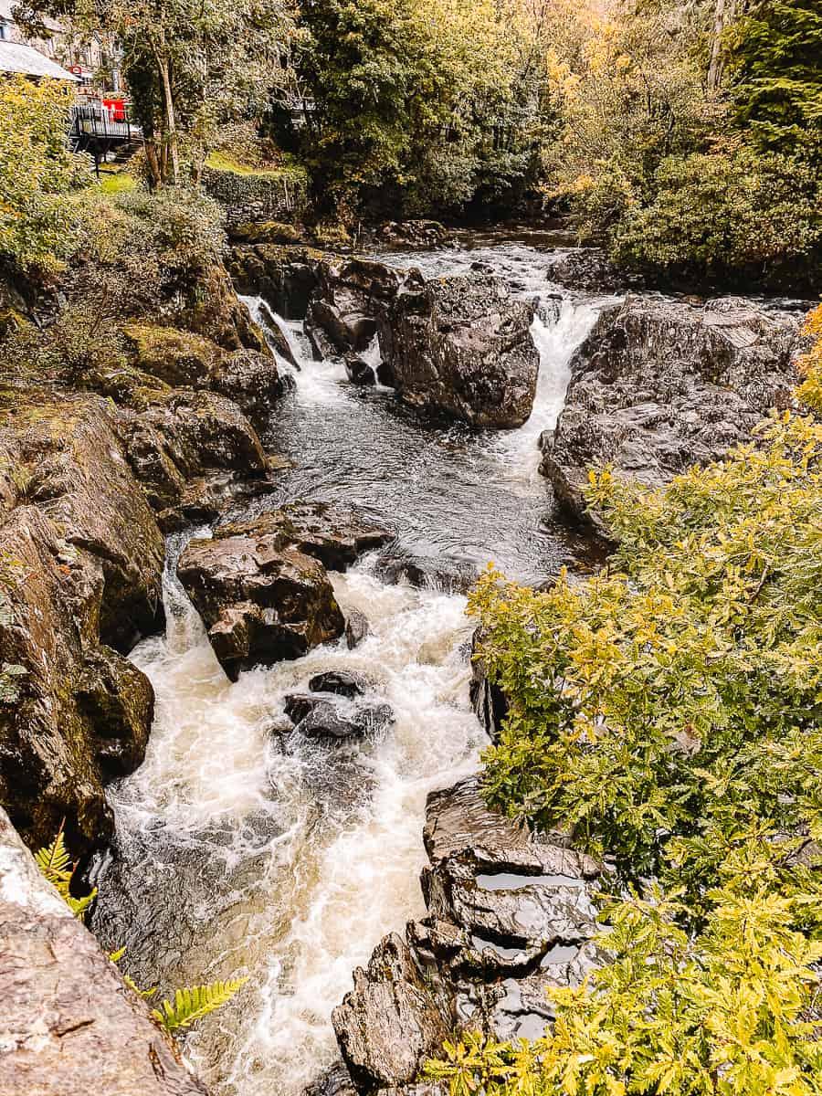 Pont-y-Pair Waterfalls