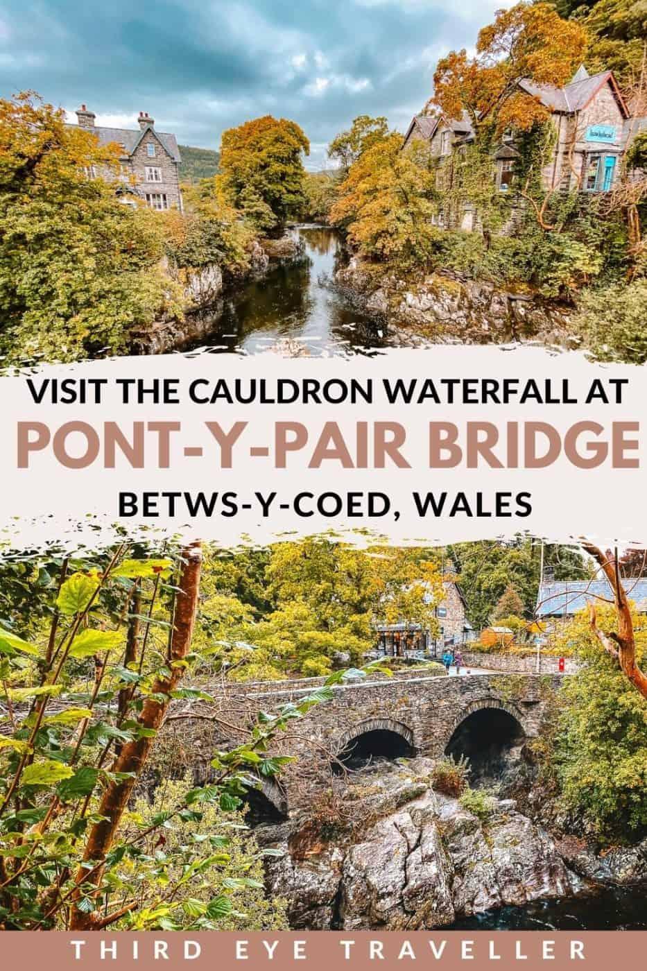 Pont y Pair Bridge Betws-y-Coed Wales