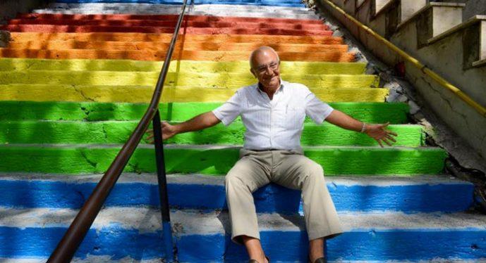 Hüseyin Çetinel Rainbow Stairs Istanbul