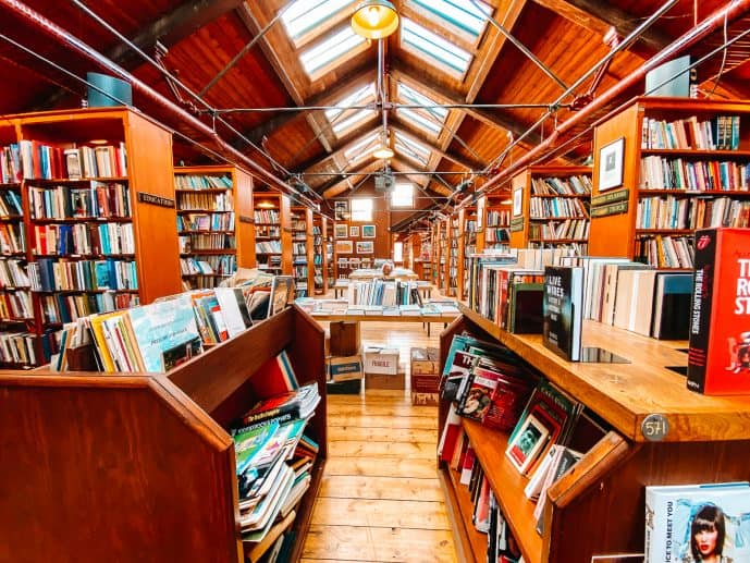 Richard Booth's Bookshop Hay-on-Wye Wales