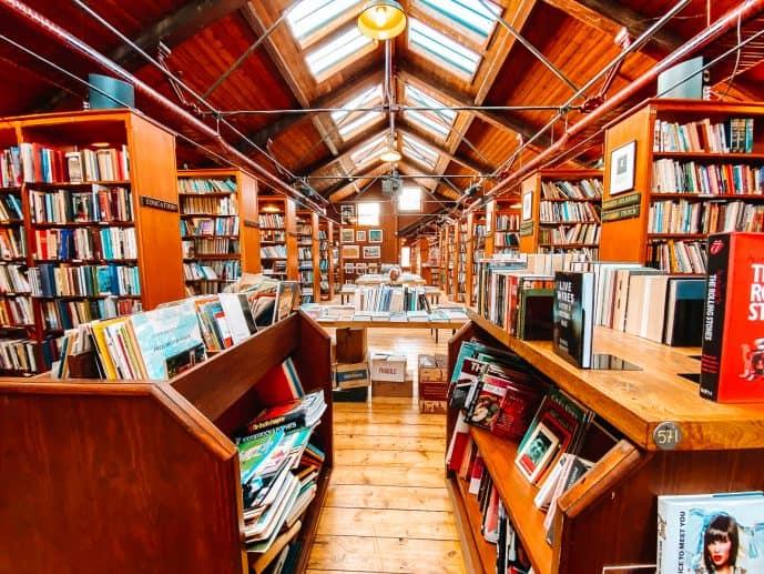 Richard Booth's Bookshop Hay-on-Wye Wales