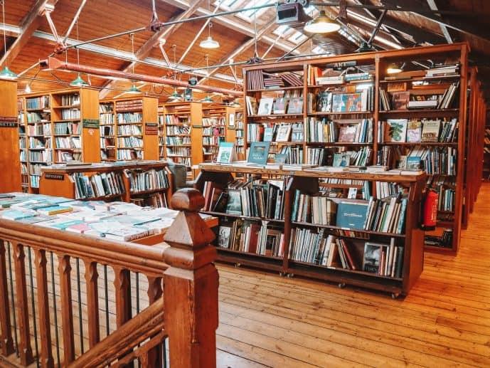 Inside Richard Booth's Bookshop Hay-on-Wye
