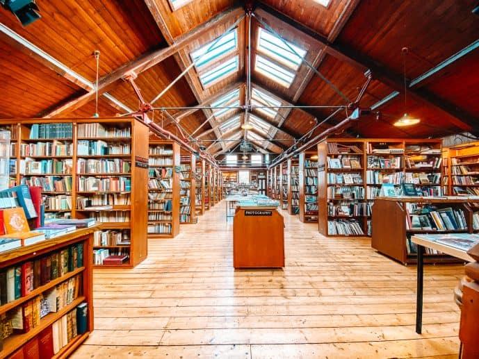 Richard Booth's Bookshop Hay-on-Wye