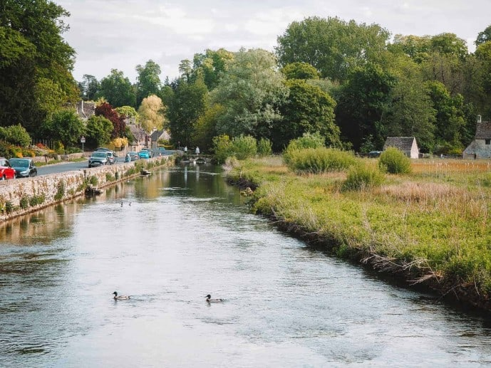 River Coln | Things to do in Bibury Cotswolds