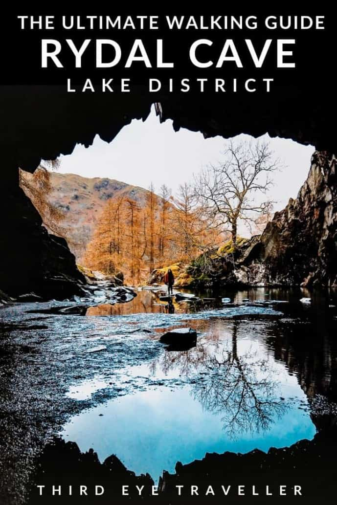 Rydal Cave Walk Lake District | Rydal Caves