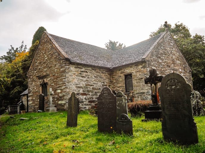 St Michael's Old Church Betws-y-Coed