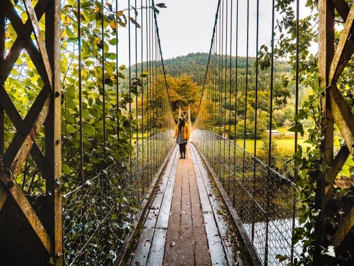 Sappers Suspension Bridge Betws y Coed Wales