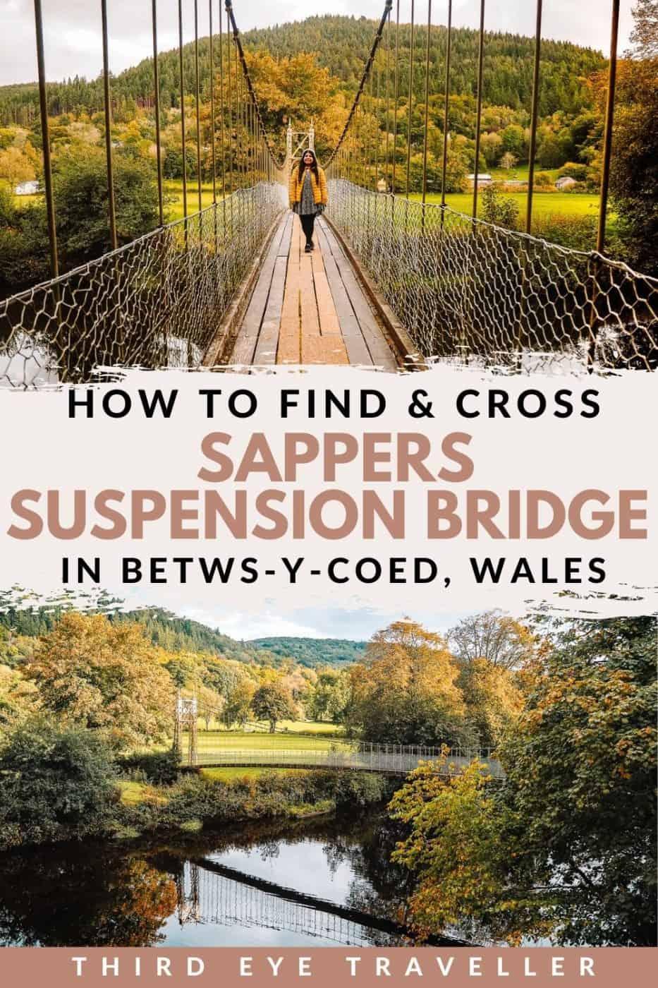 Sappers Suspension Bridge Betws-y-Coed Wales