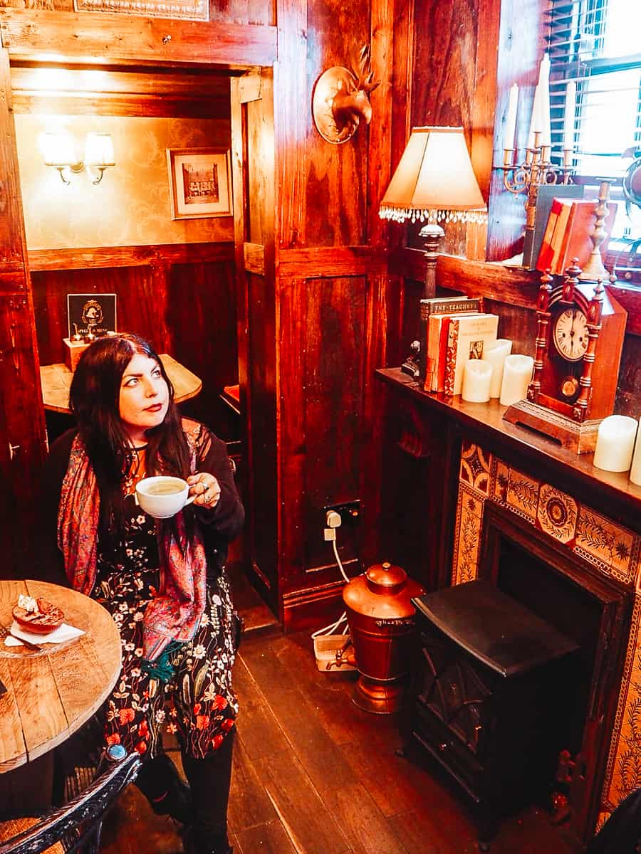 Sherlock Holmes Coffee Shop Whitby photography spots