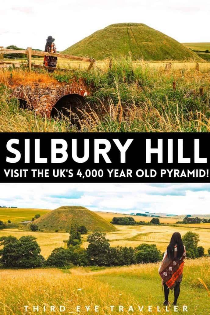 Silbury Hill Avebury Wiltshire