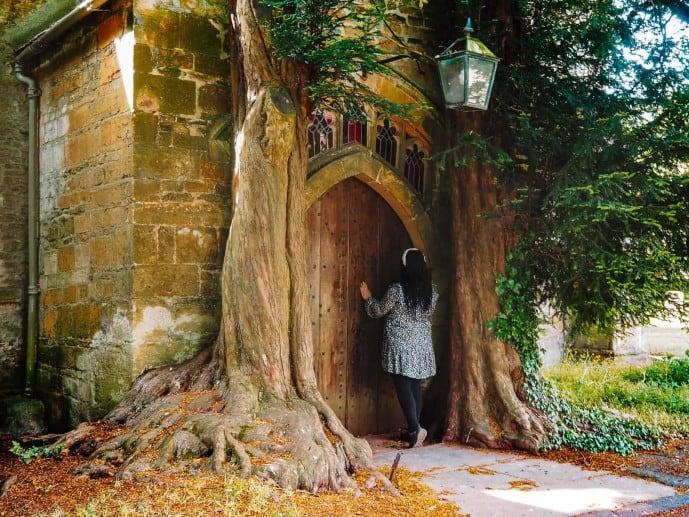 St Edward's Church Yew Tree Door