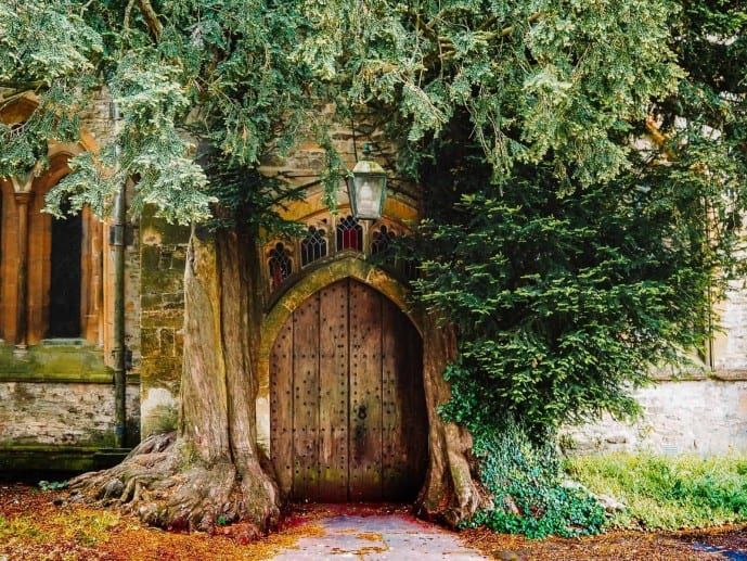 St Edwards Church Stow on the Wold Tolkien
