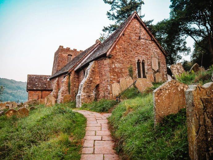 St Martin's Church Cwmyoy