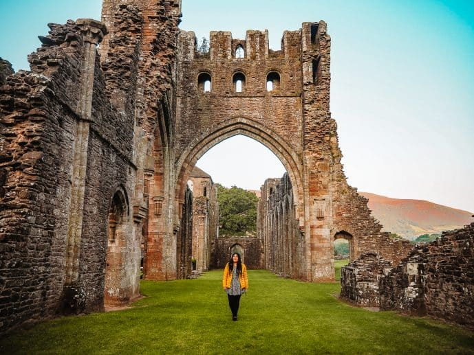 Llanthony Priory Ruins Brecon Beacons