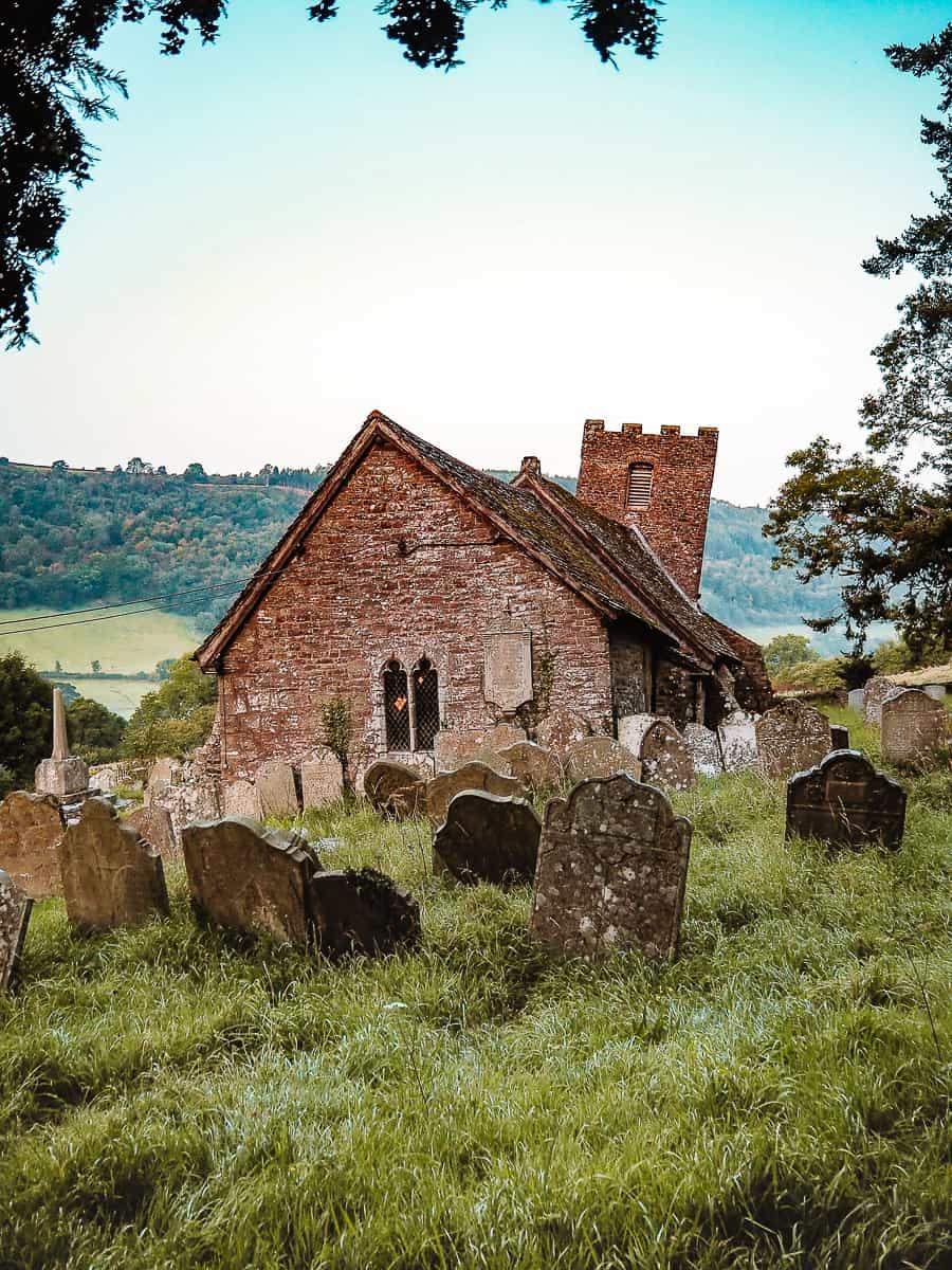 St Martins Church Cwmyoy