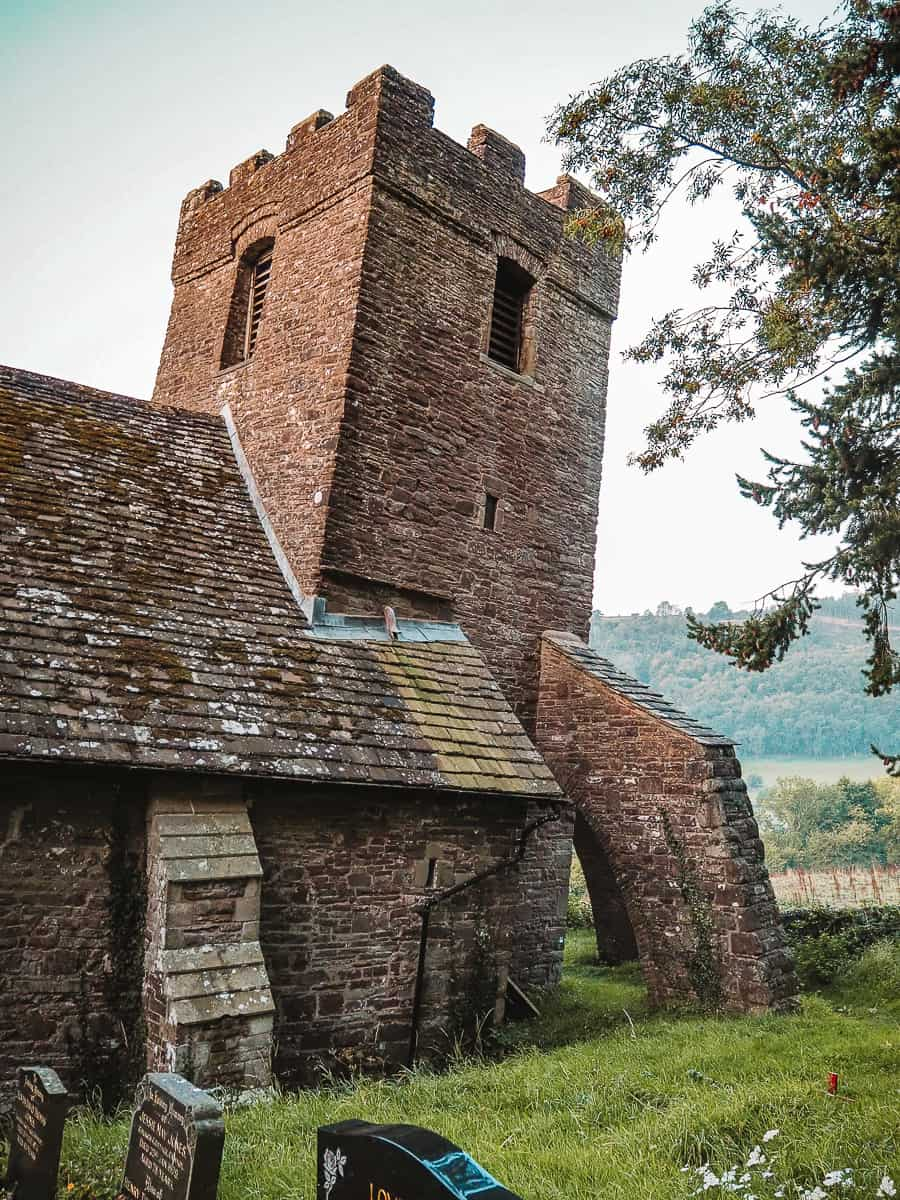 Crooked Church Brecon Beacons