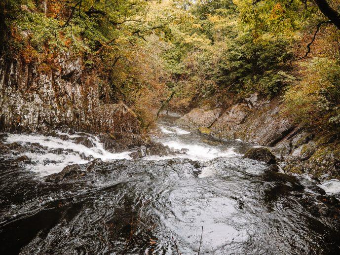 Swallow Falls Cascade Afon Llugwy River