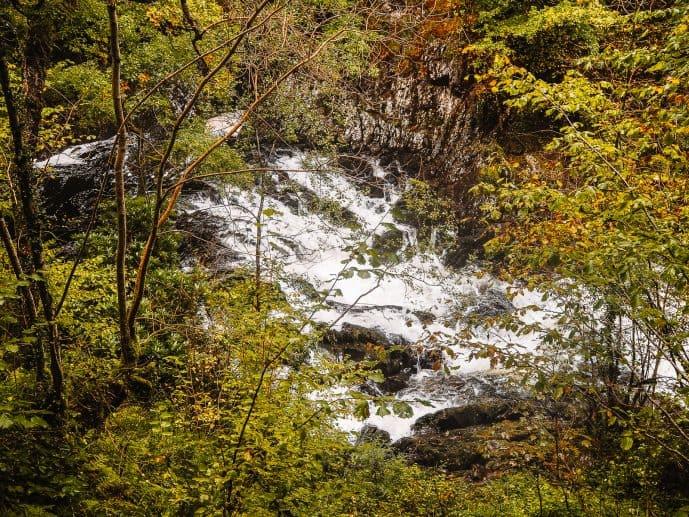 Swallow Falls Gwydir Forest Snowdonia Wales