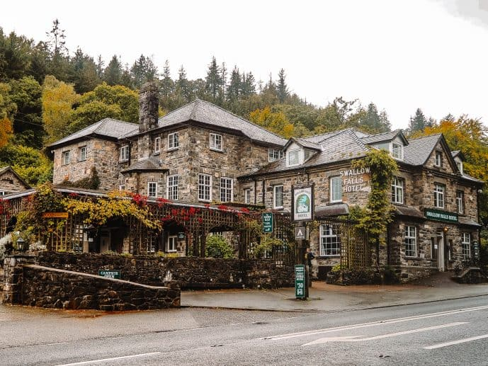 Swallow Falls Hotel Wales