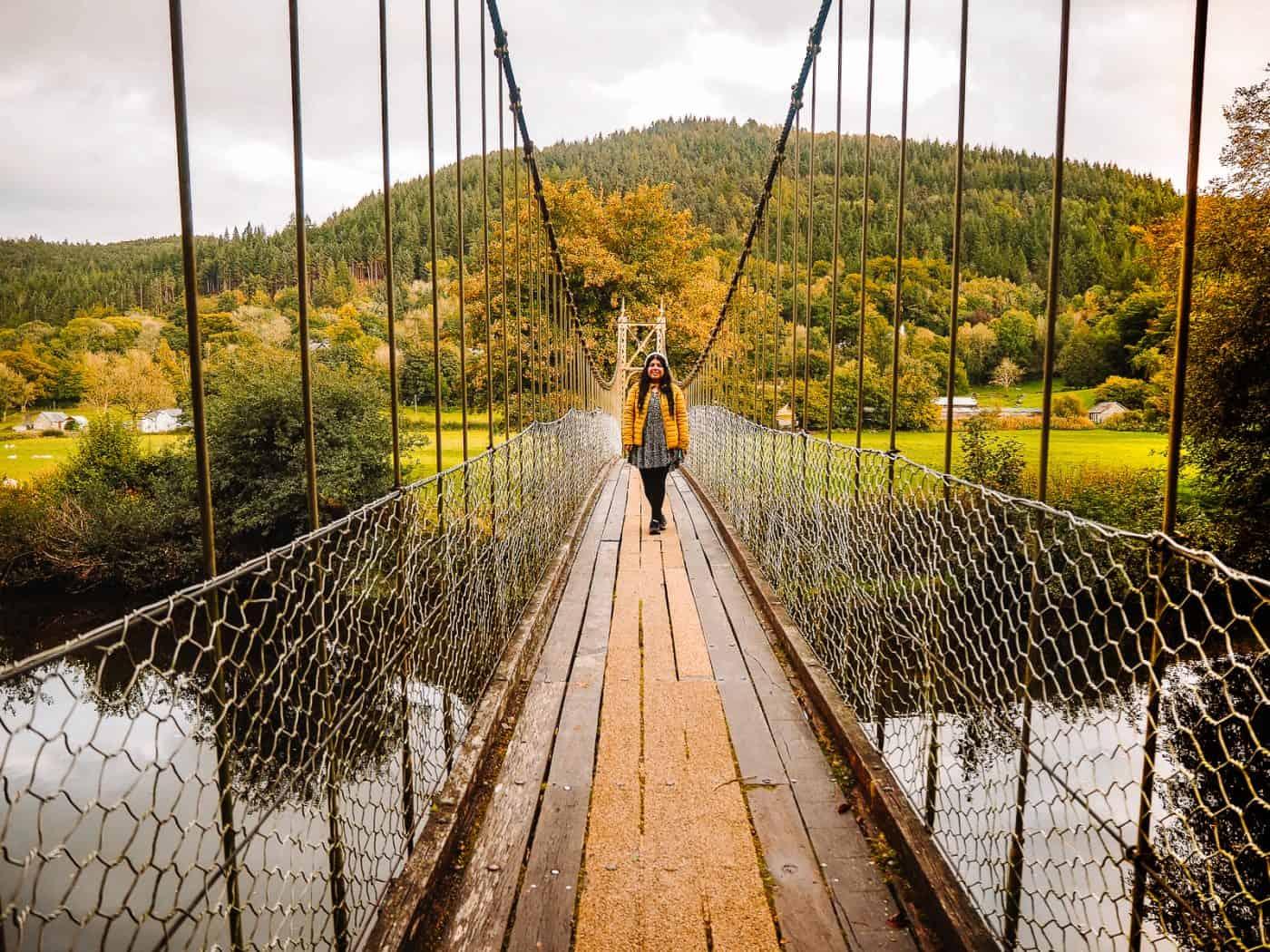 Sappers Suspension Bridge Betws-y-Coed