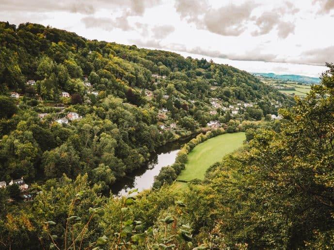 Symonds Yat village view