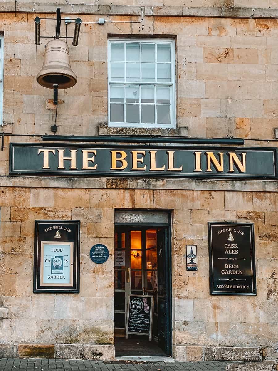 the Bell Inn Moreton In Marsh Tolkien