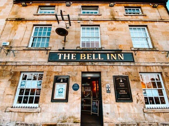 the Bell inn Moreton in Marsh three stories