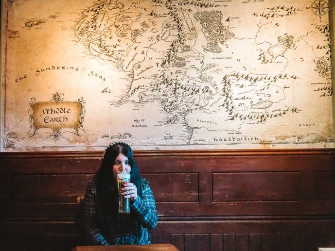 The Bell Inn Moreton in Marsh Tolkien Middle Earth Map Prancing Pony Inspiration