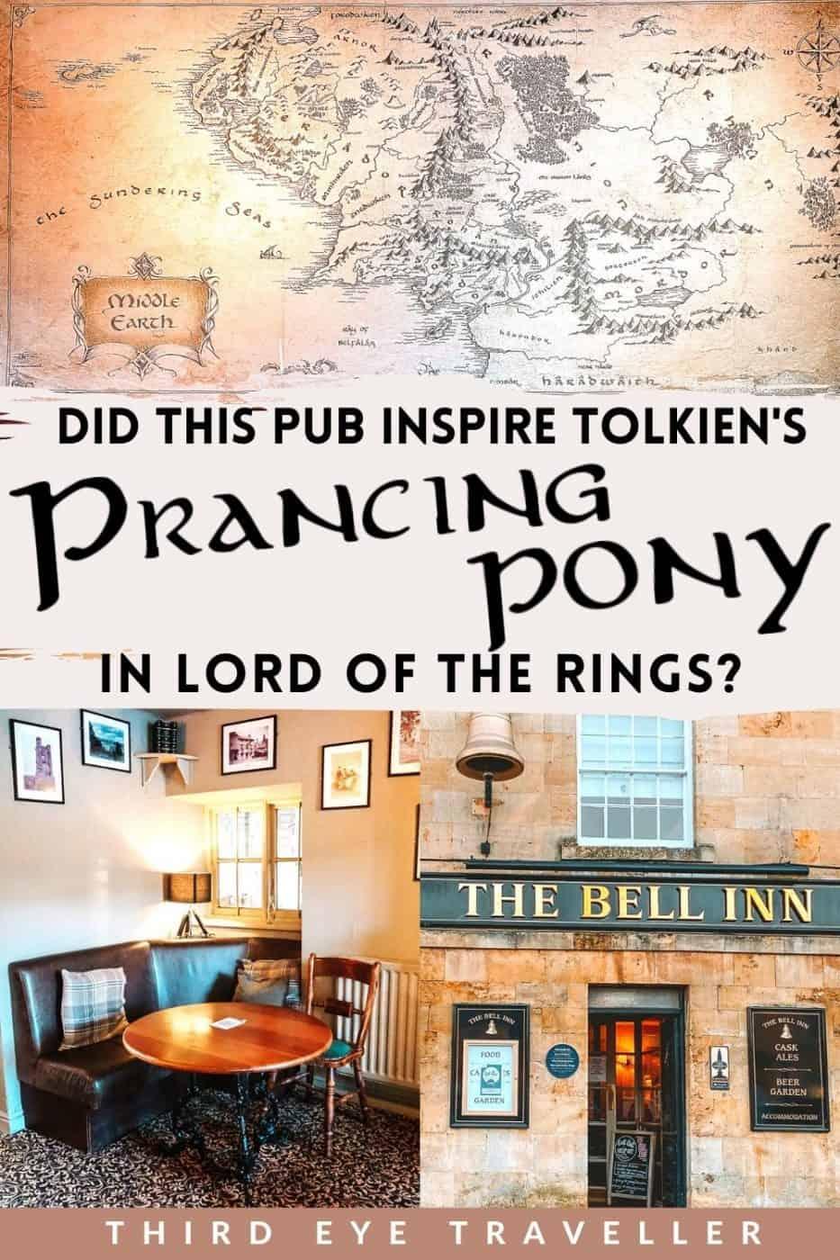 The Bell Inn Moreton in Marsh Tolkien Bree Prancing Pony