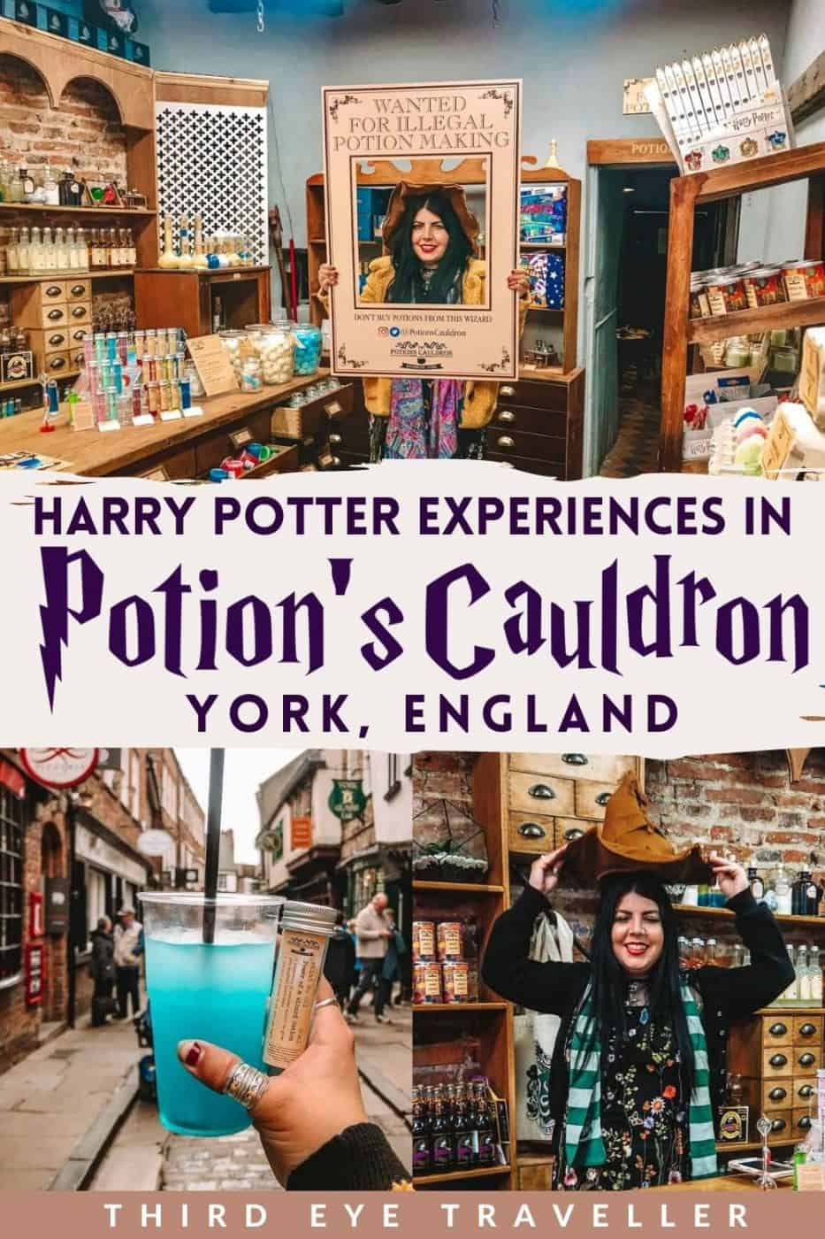 The Potion's Cauldron Harry Potter York