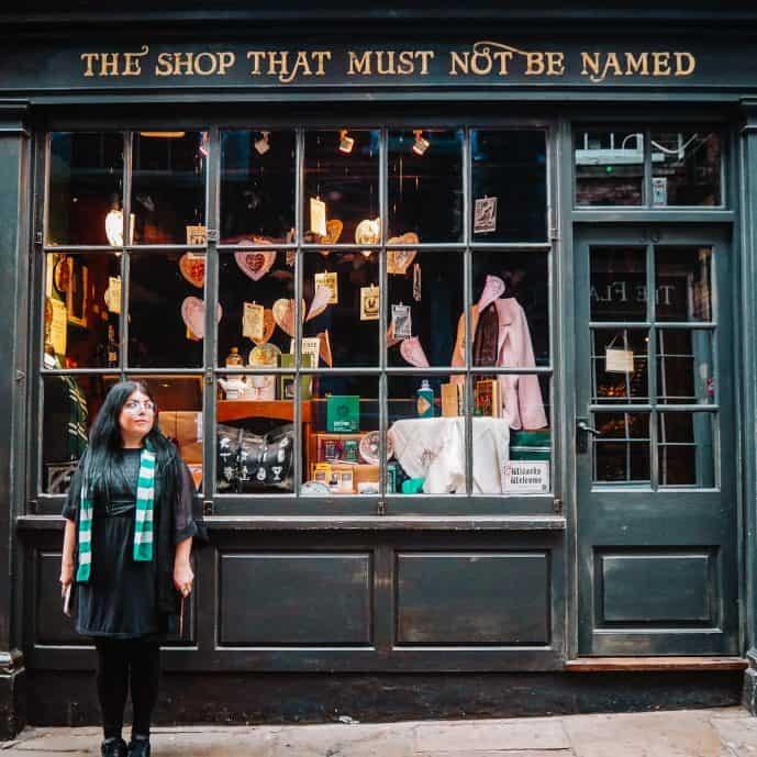 The Shop That Shall Not Be Named York Outside