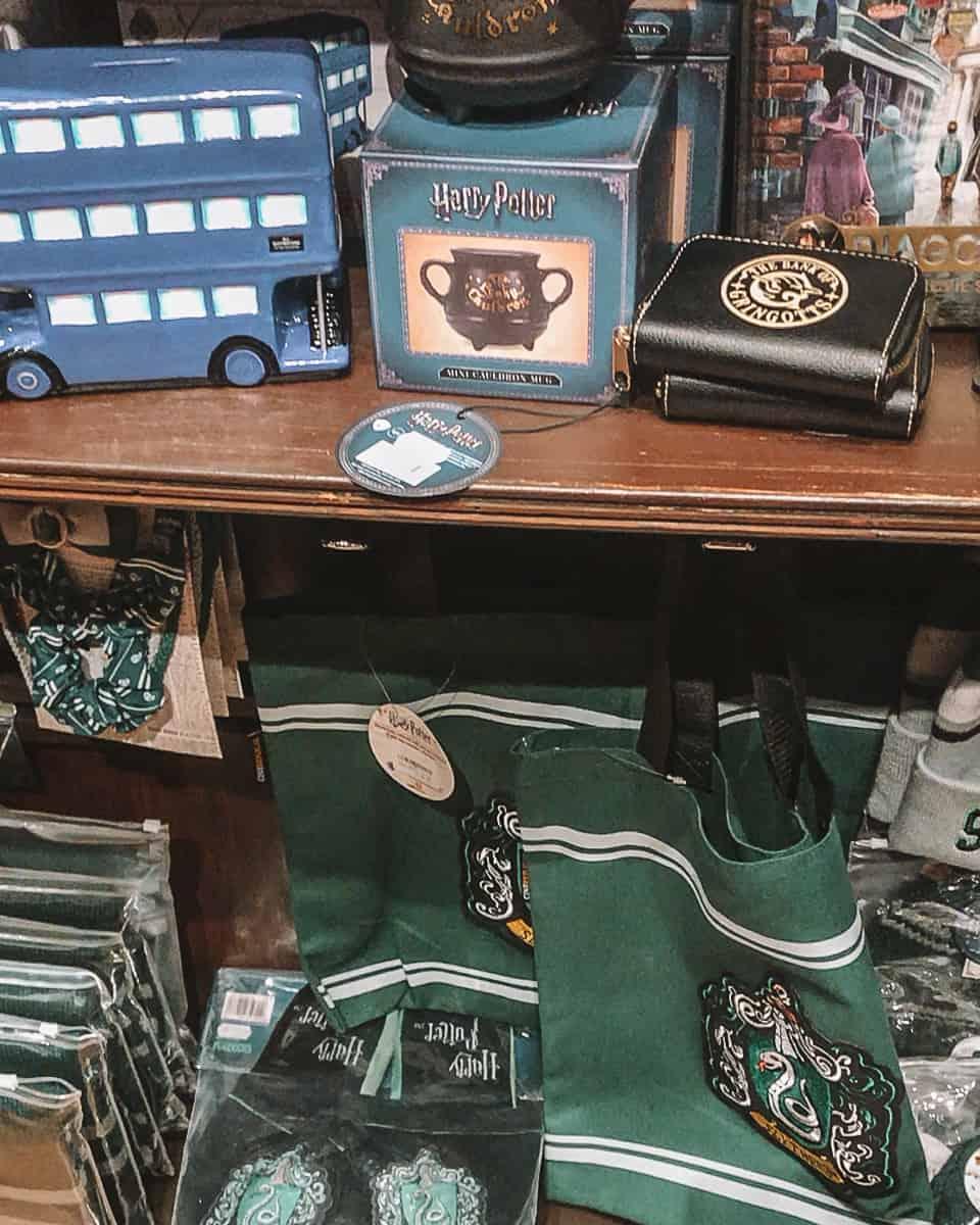 Harry Potter Shop York Slytherin Souvenirs