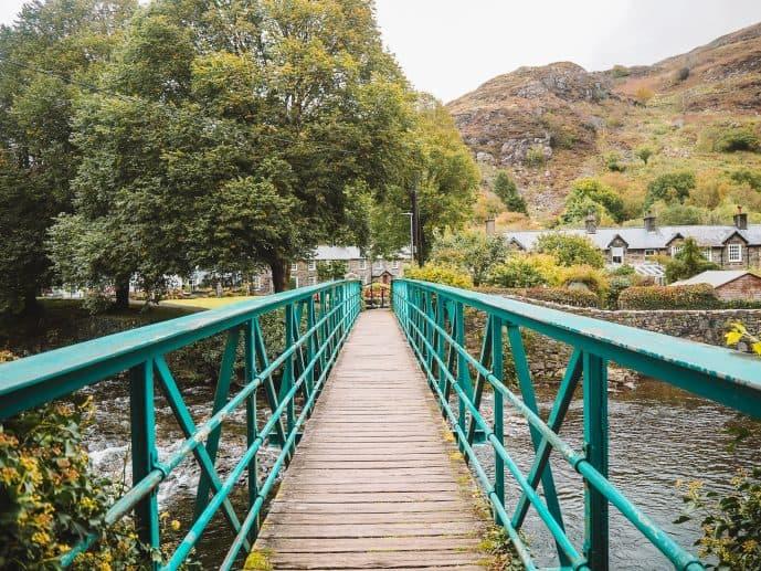 Blue River Bridge Beddgelert