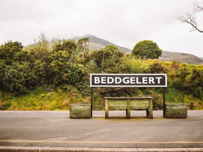 Beddgelert Station, Welsh Highlands Railway