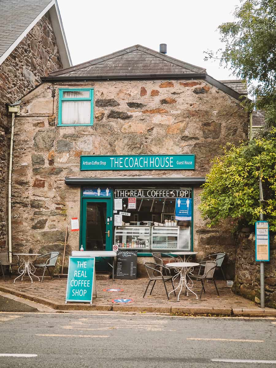 The Real Coffee Shop The Coach House beddgelert