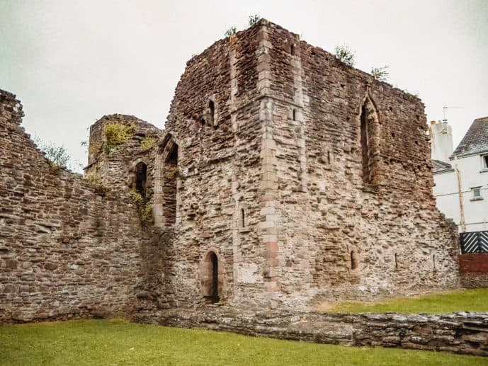 Monmouth Castle Wales