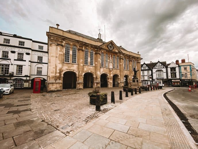 Shire Hall Monmouth Agincourt Square