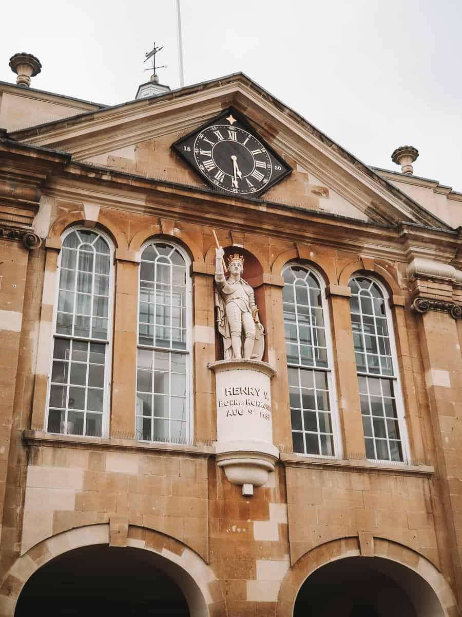 The Statue of King Henry V, Monmouth