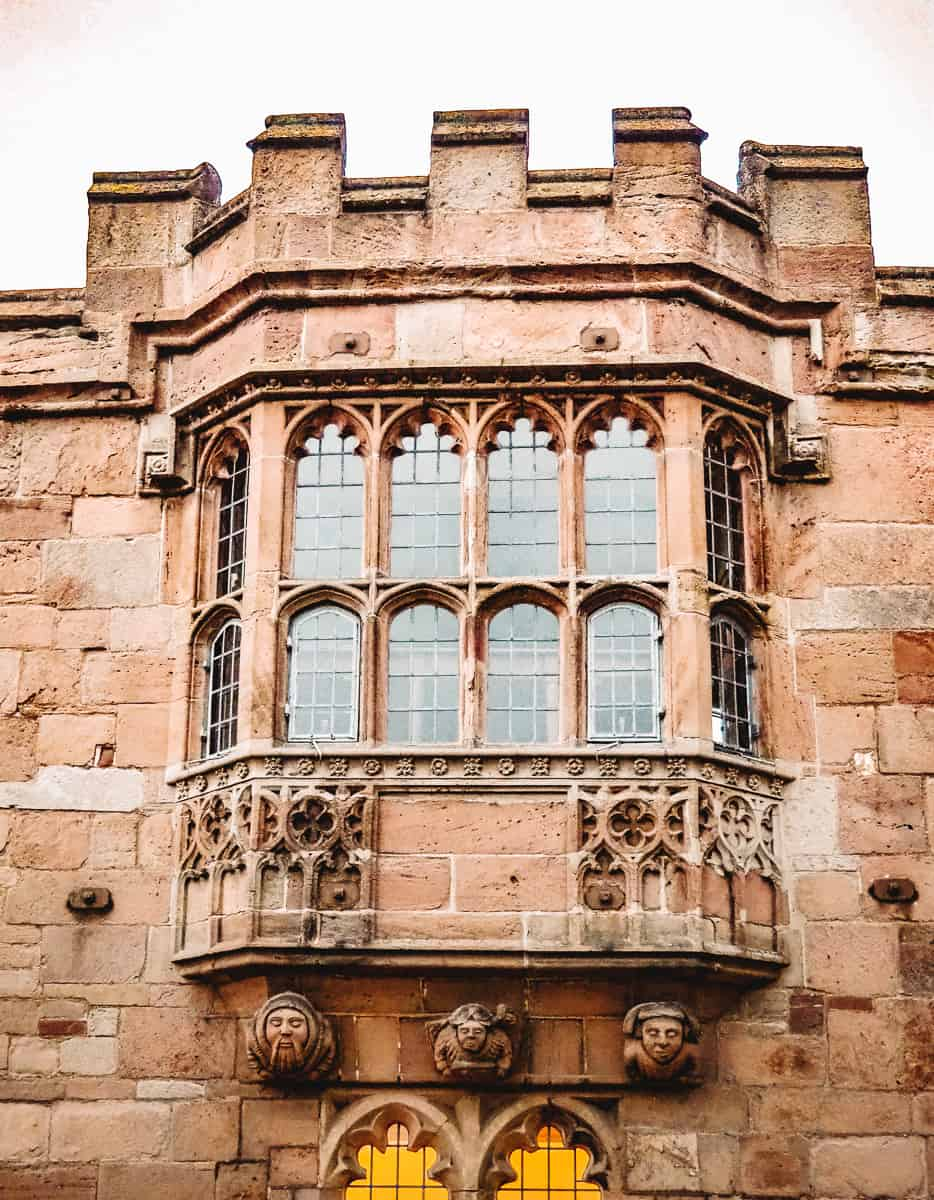 Geoffrey's Window Monmouth Priory