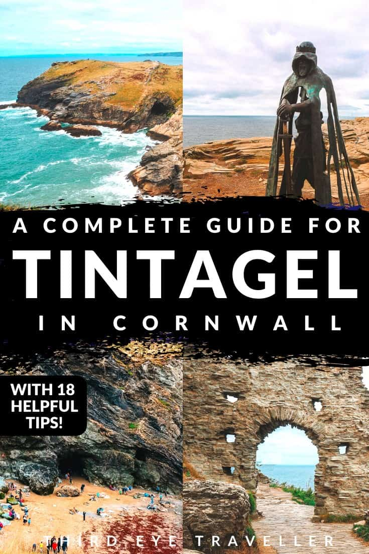 Visiting Tintagel Castle | King Arthur's Castle
