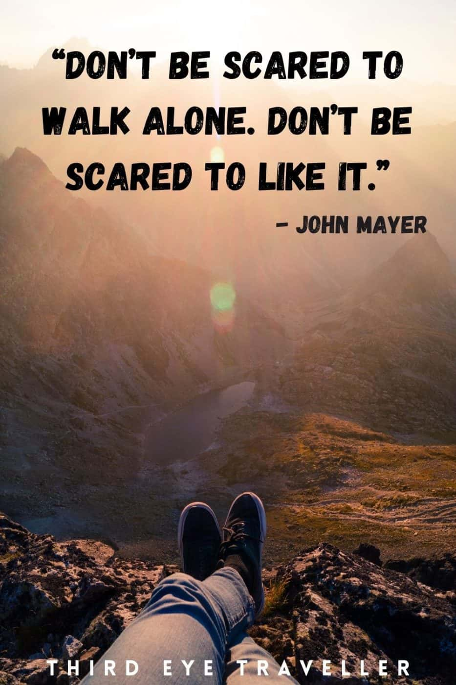 Solo travel quotes travelling alone quotes