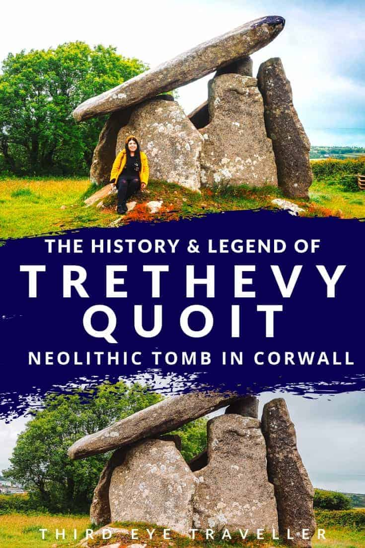 Trethevy Quoit Cornwall