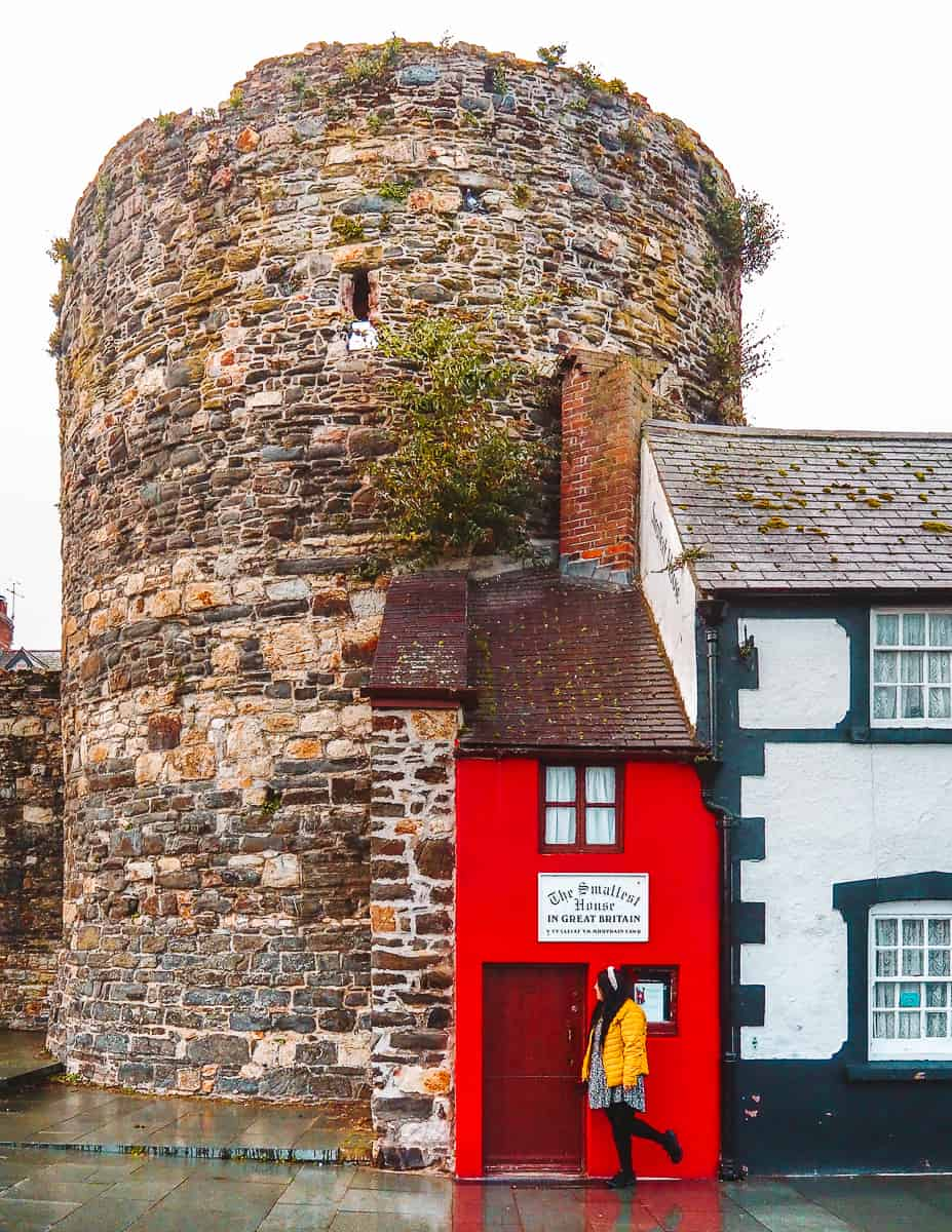 The Smallest House in Great Britain Conwy